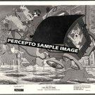 LADY AND THE TRAMP ~ Orig '72 WALT DISNEY Animation Movie Photo ~ TRAMP & DOGCATCHER