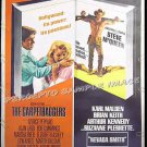 NEVADA SMITH / CARPETBAGGERS ~ '68 Movie Poster 40x60 ~ STEVE McQUEEN / CARROLL BAKER