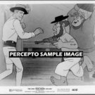 MAN FROM BUTTON WILLOW ~ Ex-Cond '64 MOVIE ANIMATION PHOTO ~ Western Brawl