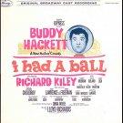 I HAD A BALL ~ '64 CONEY ISLAND Broadway Musical Cast LP & PHOTOS ~ BUDDY HACKETT / KAREN MORROW