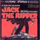 JACK THE RIPPER ~ Rare '60 Stereo Movie Soundtrack Vinyl LP ~ PETE RUGOLO / JIMMY McHUGH