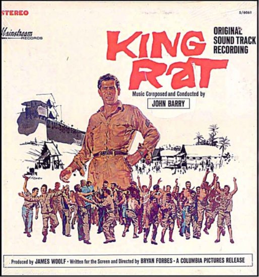 King Rat Rare New 60s Movie Soundtrack Vinyl Lp John Barry