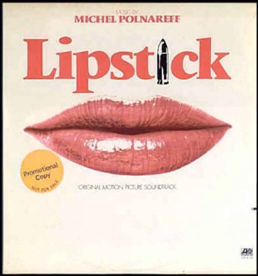 LIPSTICK ~  Rare OUT OF PRINT MARGAUX HEMINGWAY Movie Soundtrack Vinyl LP ~ MICHEL POLNAREFF