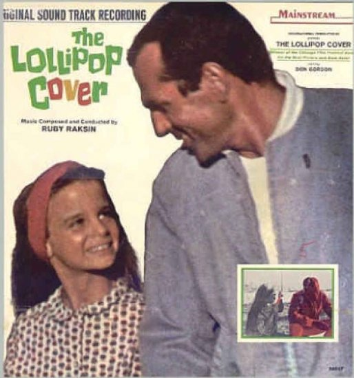 The LOLLIPOP COVER ~ RARE '65 Movie Soundtrack Vinyl LP ~ Sally KELLERMAN / Ruby RAKSIN