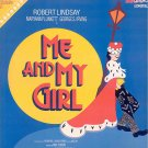 ME and MY GIRL ~ Orig '86 Broadway Cast Vinyl LP ~ ROBERT LINDSAY / JANE CONNELL