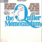 The QUILLER MEMORANDUM ~ RARE '66 SPY Movie Soundtrack Vinyl LP ~ MATT MONRO / JOHN BARRY