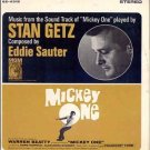 MICKEY ONE ~ '65 WARREN BEATTY Jazz Movie Soundtrack  Vinyl LP ~ STAN GETZ / EDDIE SAUTER