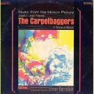 The CARPETBAGGERS ~ Original '64 Movie Soundtrack Vinyl LP ~ ELMER BERNSTEIN