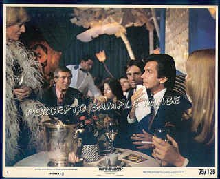 ONCE IS NOT ENOUGH  - '75 Movie Photo!* GEORGE HAMILTON / MELINA MERCOURI