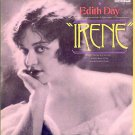 IRENE ~ 1919 OUT-OF-PRINT US / LONDON Cast Vinyl LP ~ EDITH DAY