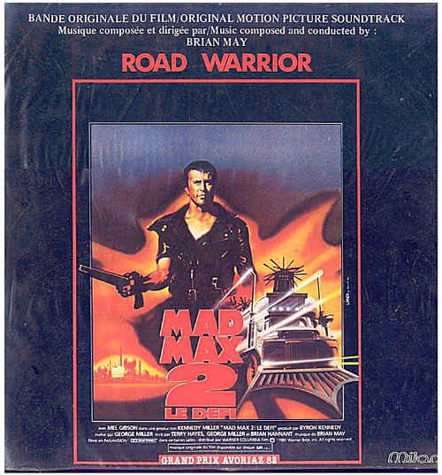MAD MAX 2 Beyond Thunderdome ~ NEW '81 French Import Movie Soundtrack Vinyl LP! ~ BRIAN MAY