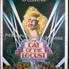 DAY OF THE LOCUST ~ '75 1-Sheet Movie Poster ~ KAREN BLACK / DONALD SUTHERLAND / DAVID BYRD Art