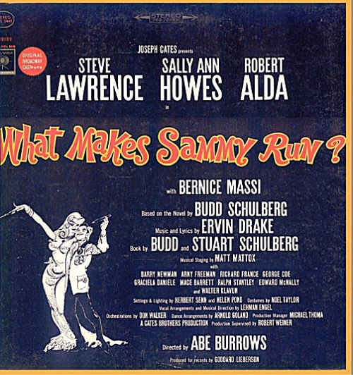 WHAT MAKES SAMMY RUN? ~ NEW OOP '64 Broadway Cast Vinyl LP ~ Steve LAWRENCE / Sally Ann HOWES