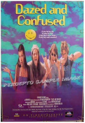 DAZED AND CONFUSED - '93 1-Sheet CULT CLASSIC Movie Poster - SASHA JENSEN