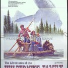 ADVENTURES OF THE WILDERNESS FAMILY ~ '75 1-Sheet Movie Poster ~ ROBERT LOGAN / SUSAN DAMANTE SHAW