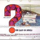 The LAST OF SHEILA ~ '73 Half-Sheet Movie Poster ~ RAQUEL WELCH / JAMES COBURN / DYAN CANNON
