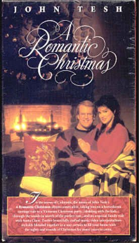 JOHN TESH: A Romantic Christmas - NEW Out-Of-Print MUSIC VHS!
