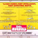 LITTLE MURDERS ~ '70 Half-Sheet Movie Poster ~ JULES FEIFFER Artwork / ALAN ARKIN / ELLIOTT GOULD