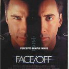 FACE / OFF ~ '97 1-Sheet Movie Poster ~ JOHN TRAVOLTA / NICHOLAS CAGE / JOHN WOO / FACE OFF