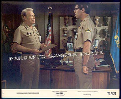 WHIFFS - '75 Orig Movie Photo #4 - EDDIE ALBERT / ELLIOTT GOULD