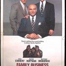 FAMILY BUSINESS ~ '89 1-Sheet Movie Poster ~ Sean CONNERY / Dustin HOFFMAN / Matthew BRODERICK