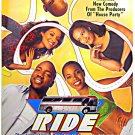 RIDE ~ '98 1-Sheet Movie Poster ~ John WITHERSPOON / Malik YOBA / Melissa De SOUSA / Fredro STARR