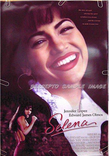 SELINA - '97 1-Sheet Movie Poster - JENNIFER LOPEZ / EDWARD JAMES OLMOS / JON SEDA / CONSTANCE MARIE