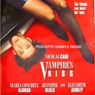 VAMPIRE&#39;S KISS ~ Sexy &#39;88 1-Sheet Movie Poster ~ NICHOLAS CAGE / JENNIVER BEALS / ELIZABETH ASHLEY