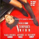 VAMPIRE'S KISS ~ Sexy '88 1-Sheet Movie Poster ~ NICHOLAS CAGE / JENNIVER BEALS / ELIZABETH ASHLEY