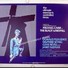 The BLACK WINDMILL ~ Fine-Cond '74 Half-Sheet Movie Poster ~ MICHAEL CAINE