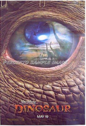DINOSAUR ~ '00 Orig Advance Promo Movie Poster ~ WALT DISNEY Animation