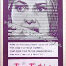 The DEVIL'S OWN ~ Ex-Cond '67 Insert Movie Poster ~ JOAN FONTAINE