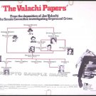 The VALACHI PAPERS ~ '72 Half Sheet Mob Movie Poster ~ CHARLES BRONSON