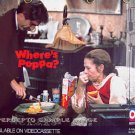WHERE'S POPPA? ~ Rare Size 80s Movie Poster ~ Ruth GORDON / George SEGAL / Carl REINER