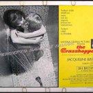 THE GRASSHOPPER ~ Sexy '70 Half Sheet Movie Poster ~ JACQUELINE BISSET / JOSEPH COTTEN / JIM BROWN
