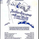 BERLIN to BROADWAY with KURT WEILL ~OOP '72 DJ Broadway Cast Vinyl LP ~ KEN KERCHEVAL / JUDY LANDER
