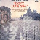 DON'T LOOK NOW ~ Out-Of-Print Nr-Mint '74 Movie Soundtrack Vinyl LP ~ PINO DONAGGIO / JULIE CHRISTIE