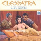 CLEOPATRA ~ Original '63 Liz Taylor Movie Soundtrack Vinyl LP ~ ALEX NORTH