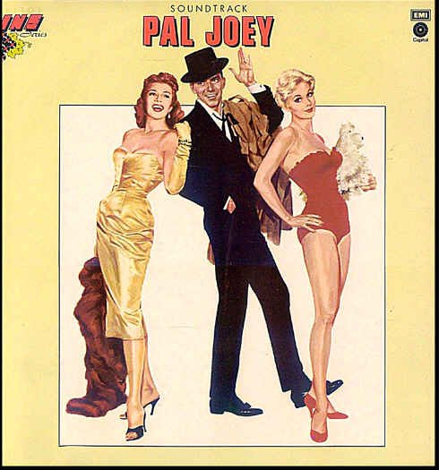 PAL JOEY ~ Nr-Mint Import '57 Movie Soundtrack LP ~ FRANK SINATRA / RITA HAYWORTH
