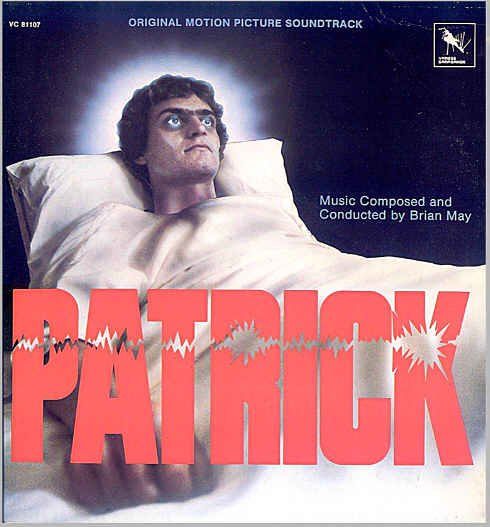 PATRICK ~ NEAR-MNT Out-Of-Print 1978 Horror Movie Soundtrack Vinyl LP ~ BRIAN MAY