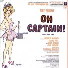 OH CAPTAIN! ~ NR-MINT '58 Broadway Cast  Vinyl LP ~ TONY RANDALL / JACQUELYN McKEEVER