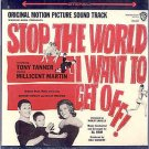 STOP THE WORLD I Want To Get Off  ~ NEW OOP '66 Movie STK Vinyl LP ~ TONY TANNER / ANTHONY NEWLEY