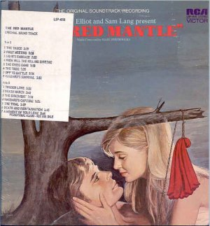 RED MANTLE ~ NEW  & RARE Movie Soundtrack DJ Vinyl LP ~ Out-Of-Print  MARC FREDERICKS / SAMMY CAHN
