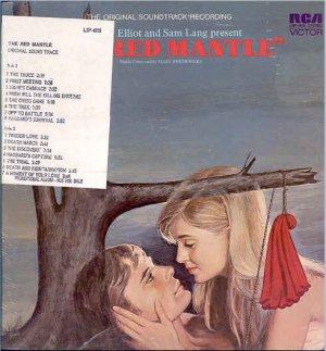 RED MANTLE ~ NEW  & RARE Movie Soundtrack DJ Vinyl LP ~ Out-Of-Print  MARC FREDERICKS / SAMMY CAHN