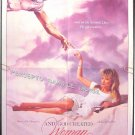 AND GOD CREATED WOMAN ~ '87 1-Sheet Movie Poster ~ ROGER VADIM / REBECCA De MORNAY / VINCENT SPANO