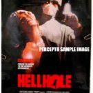 HELLHOLE ~ '87 Cult Horror 1-Sheet Movie Poster ~ JUDI LANDERS / RAY SHARKEY / MARJOE GORTNER