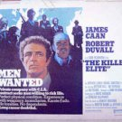 KILLER ELITE ~ Orig '75 Half-Sheet Movie Poster ~ JAMES CAAN / ROBERT DUVALL / SAM PECKINPAH