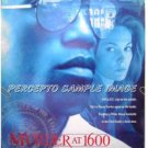 MURDER AT 1600 ~ Ex-Cond '97 1-Sheet Movie Poster ~ WESLEY SNIPES / DIANE LANE / ALAN ALDA