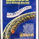 ROLLERCOASTER ~  '77 1-Sheet Movie Poster ~ GEORGE SEGAL / HENRY FONDA / RICHARD WIDMARK