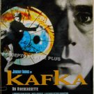 KAFKA ~ Orig 1-Sheet '91 Movie Poster ~ JEREMY IRONS / THERESA RUSSELL / JOEL GREY / ALEC GUINNESS
